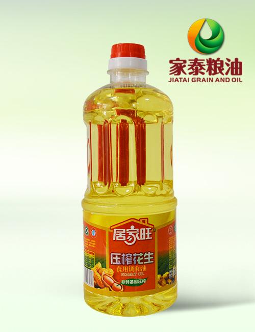 900ML居家旺压榨花生调和油(15瓶装)