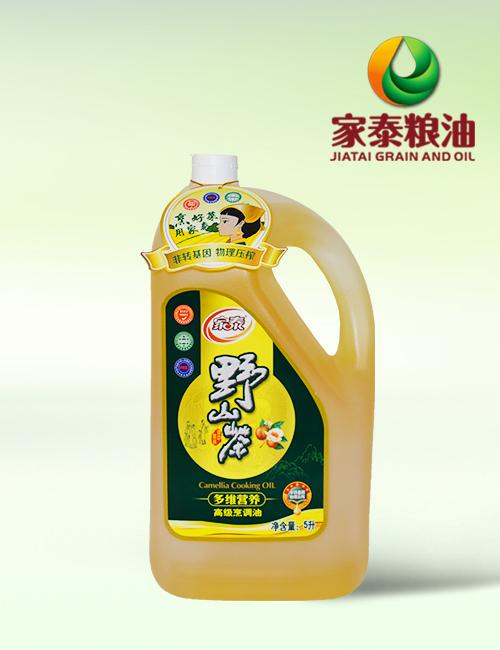 5L家泰山茶调和油(磨砂4瓶装)
