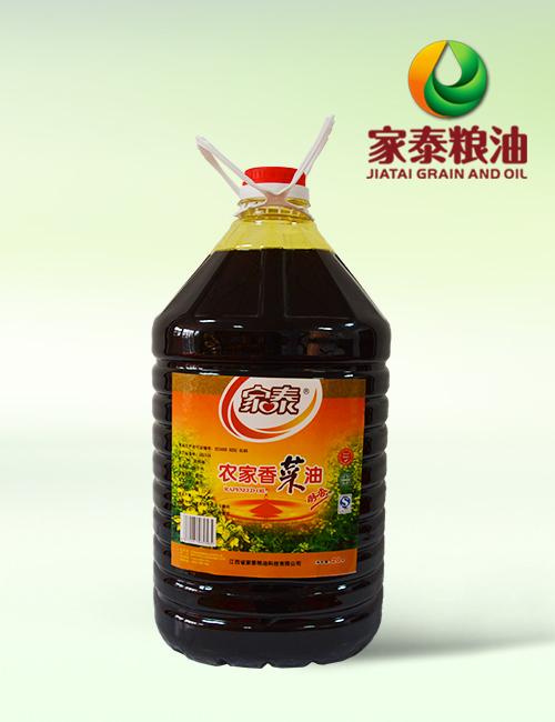 20L家泰农家香菜油(1瓶装餐饮专用油)