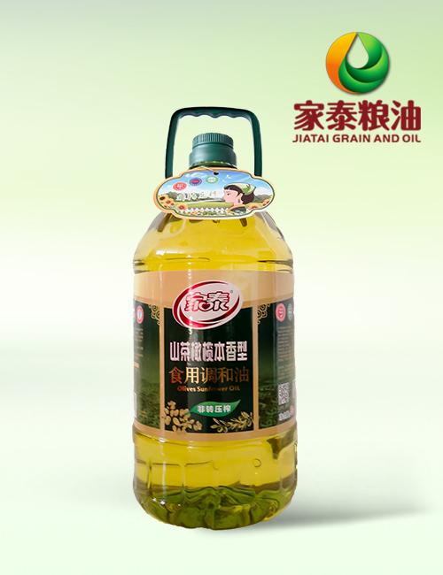 5L家泰山茶橄榄食用调和油(4瓶装)