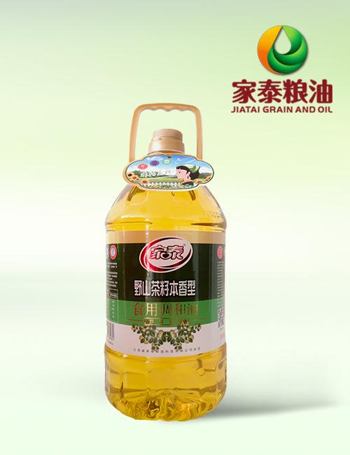 5L家泰野生茶籽食用调和油(4瓶装)