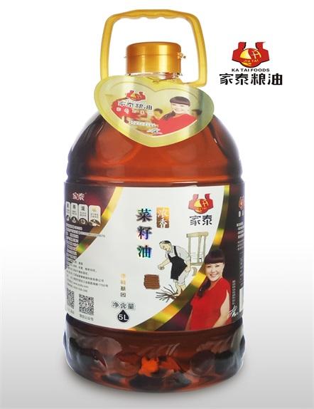 5L家泰浓香菜籽油--新品
