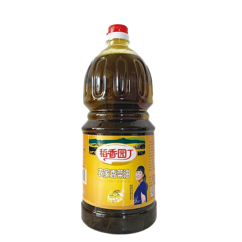 1.8L稻香园丁农家香菜籽油