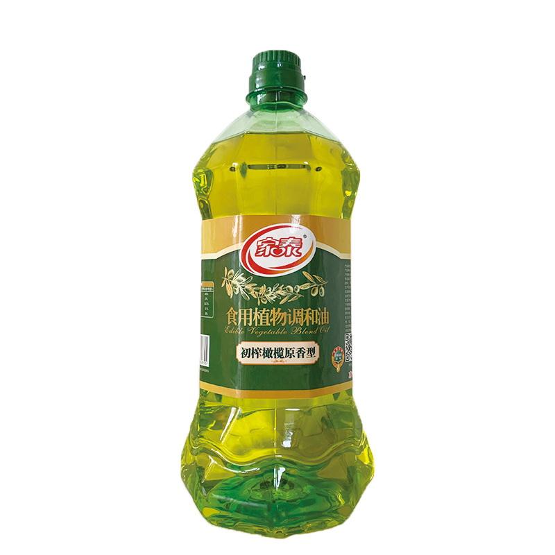 1.8L家泰橄榄原香食用植物调和油(6瓶装)