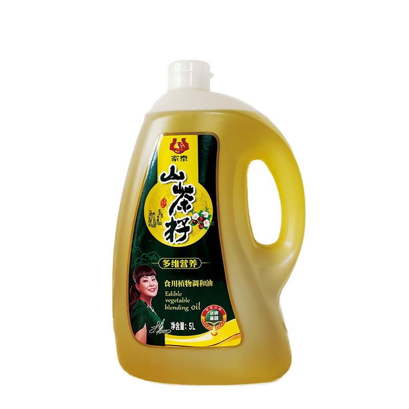 5L新万博官网manbet下载山茶籽食用植物调和油(磨砂瓶配礼袋)