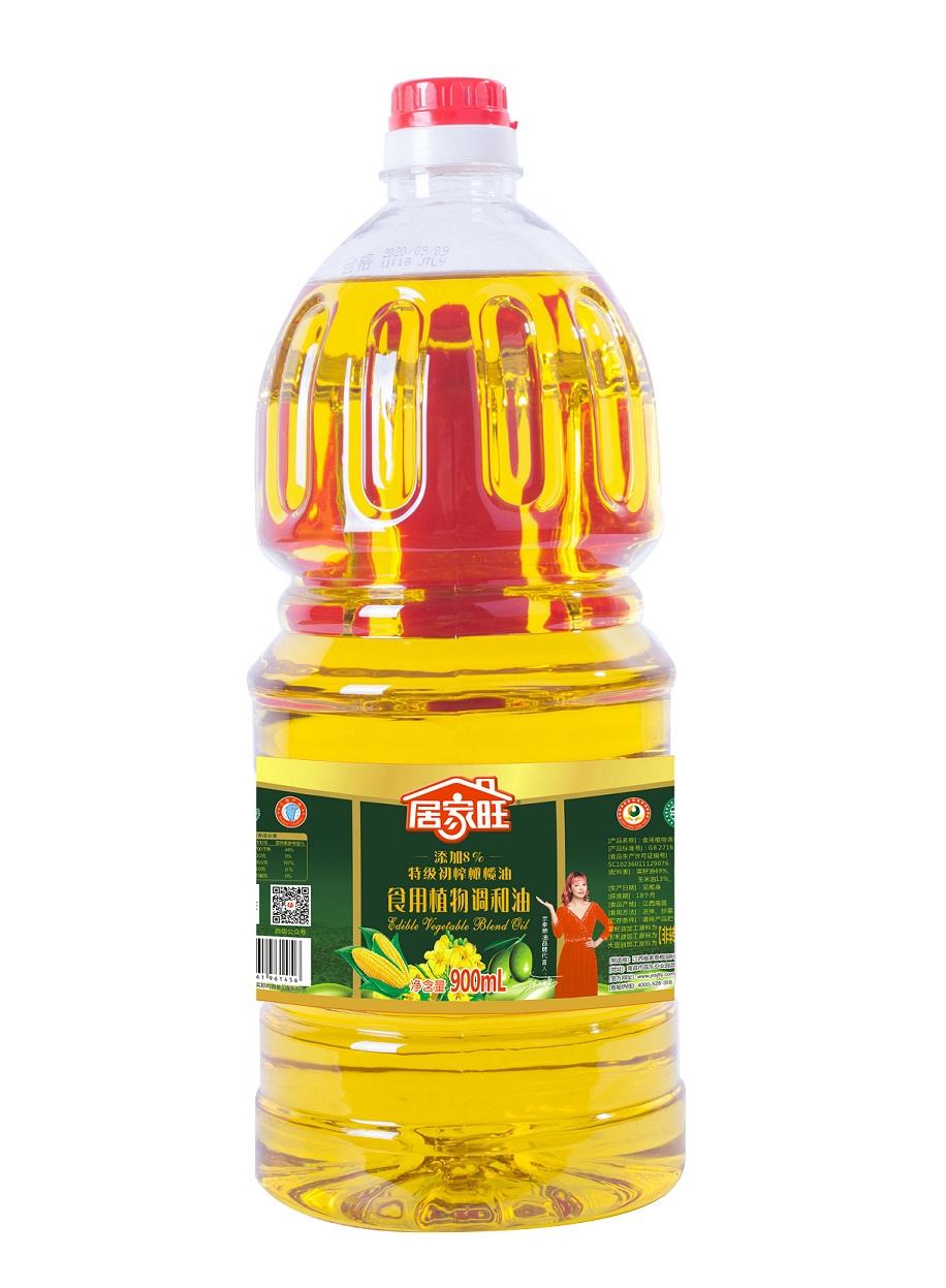 900毫升居家旺添加8%橄榄调和油