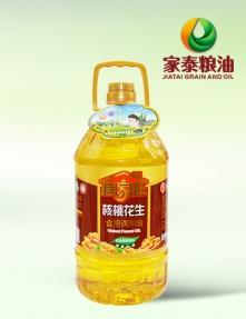 5L居家旺核桃花生食用调和油(4瓶装)