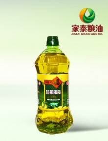 1.8L久久道道福吉橄榄食用调和油(绿色八角瓶6瓶装)