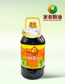 5L久久道道福吉农家香菜油(4瓶装)