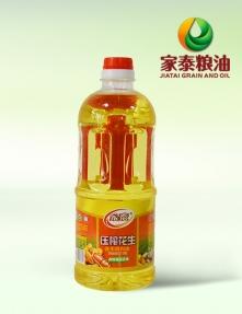 900ML家泰压榨花生食用调和油(15瓶装)