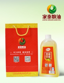 2L家泰橄榄葵花调和油(1瓶礼袋装)
