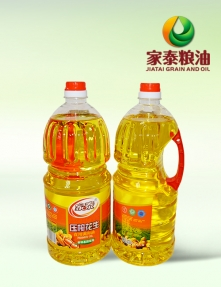 1.8L家泰压榨花生食用调和油(6瓶装)