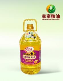 5L家泰压榨葵仁原香食用调和油(4瓶装)