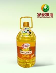 5L家泰压榨玉米原香食用调和油(4瓶装)