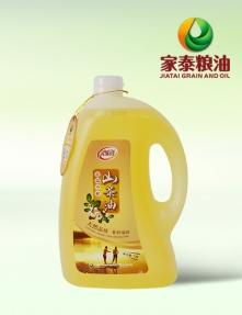 浙江5L家泰低温冷榨茶籽油(压榨山茶油礼袋装)