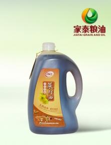 内蒙古5L家泰古法小榨菜籽油(菜油礼袋装)