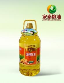 5L居家旺压榨花生食用调和油(4瓶装)