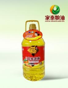 5L福东鼎压榨花生芝麻调和油(4瓶装)
