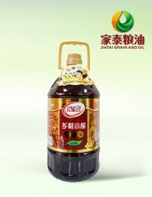 5L家泰乡村小榨菜籽油(4瓶装)