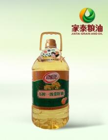 浙江5L家泰压榨菜籽油(4瓶装)