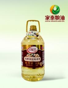 5L家泰压榨茶籽原香食用调和油(4瓶装)