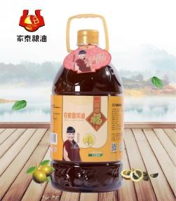 内蒙古5L久久道道福吉升级版农家香菜籽油