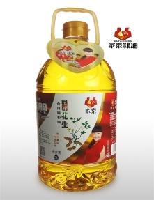 5L家泰压榨花生食用调和油--新品