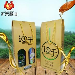 家泰旗下线上品牌油于组合生态植物油小榨菜山茶油