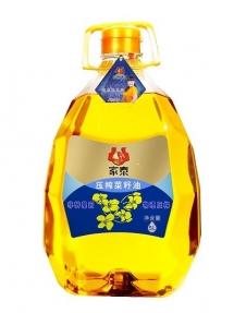 5L钻石版压榨菜籽油非转基因一级