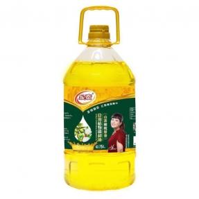 5L家泰山茶橄榄食用植物调和油(4瓶装)