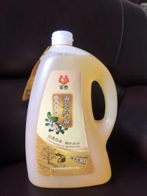 5L家泰低温冷榨油茶籽油(茶油礼袋装)