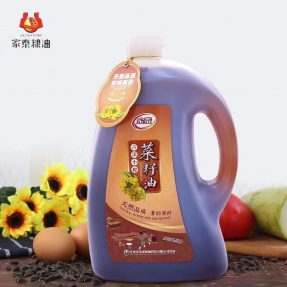 5L伟德体育平台古法小榨菜籽油(菜油礼袋装)
