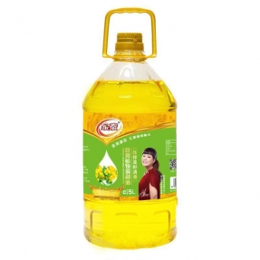 5L新万博官网manbet下载万博体育登录app菜籽食用植物调和油(4瓶装)
