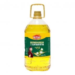 5L居家旺压榨茶籽食用植物调和油(4瓶装)