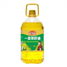 5L居家旺压榨一级菜籽油(4瓶装)