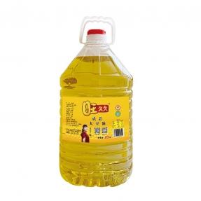 20升旺久久成品大豆油一级餐饮专用油