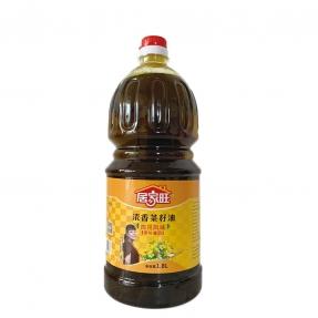 1.8L居家旺四川风味浓香菜籽油(6瓶装)