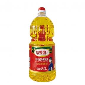 1.8L稻香园丁万博体育登录app花生食用植物调和油(6瓶装)
