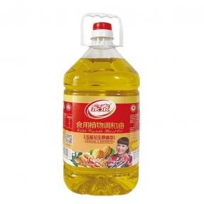 4.5L家泰压榨花生食用植物调和油