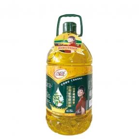 5L新万博官网manbet下载山茶橄榄食用植物调和油(升绿)专利包装