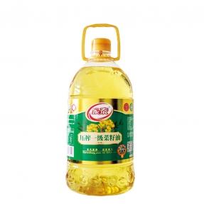 5L新万博官网manbet下载万博体育登录app一级菜籽油专利瓶包装