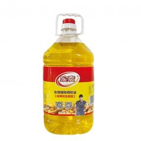 5L家泰压榨花生食用植物调和油(方瓶4餐饮专用油)