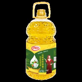 5L家泰压榨茶籽食用植物调和油(4瓶装)