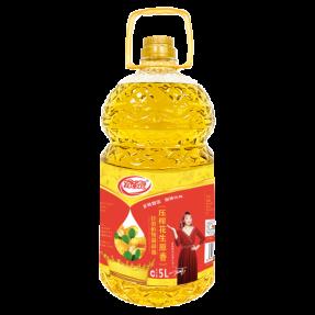 5L新万博官网manbet下载万博体育登录app花生食用植物调和油(4瓶装)