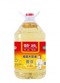 20升赣欣成品大豆油一级餐饮专用油