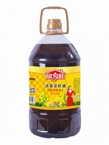 5L居家旺浓香菜籽油四级菜黑色菜