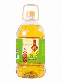 5L道道福伟德体育手机版一级菜籽油