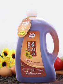 内蒙古5L磨砂古法小榨菜籽油