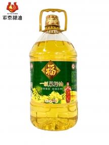 5L福东鼎伟德体育手机版一级菜籽油 一菜